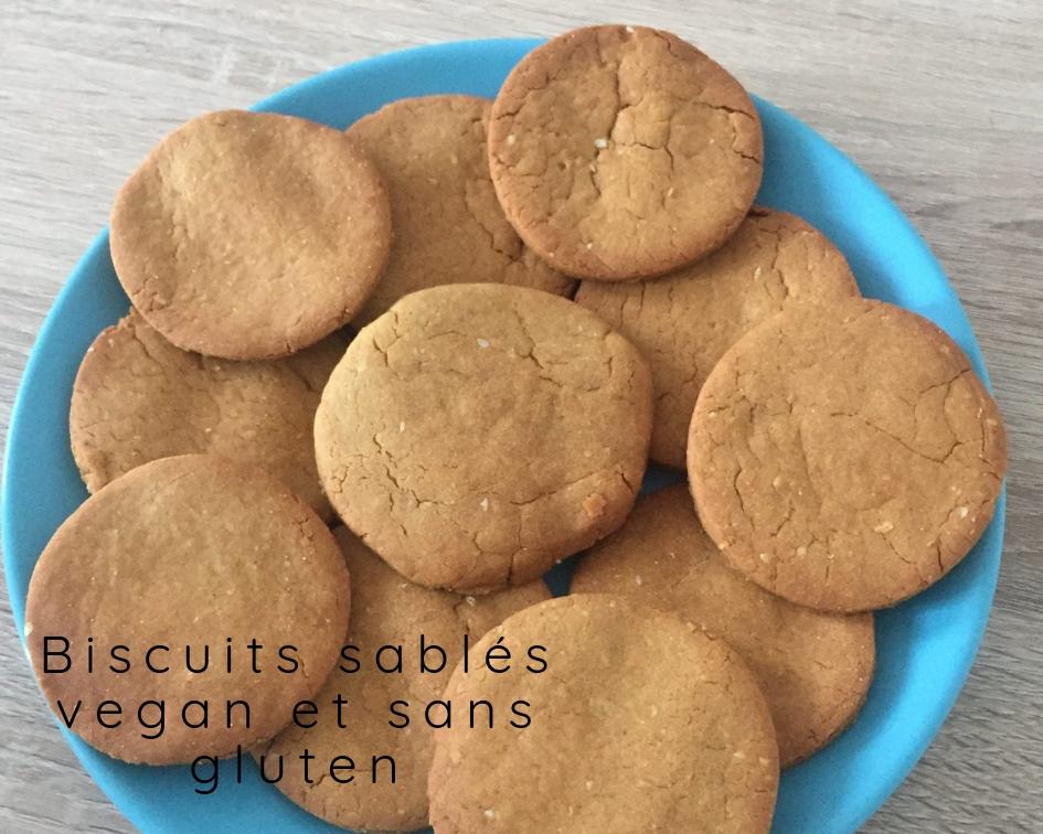 Biscuits sablés vegan et sans gluten !