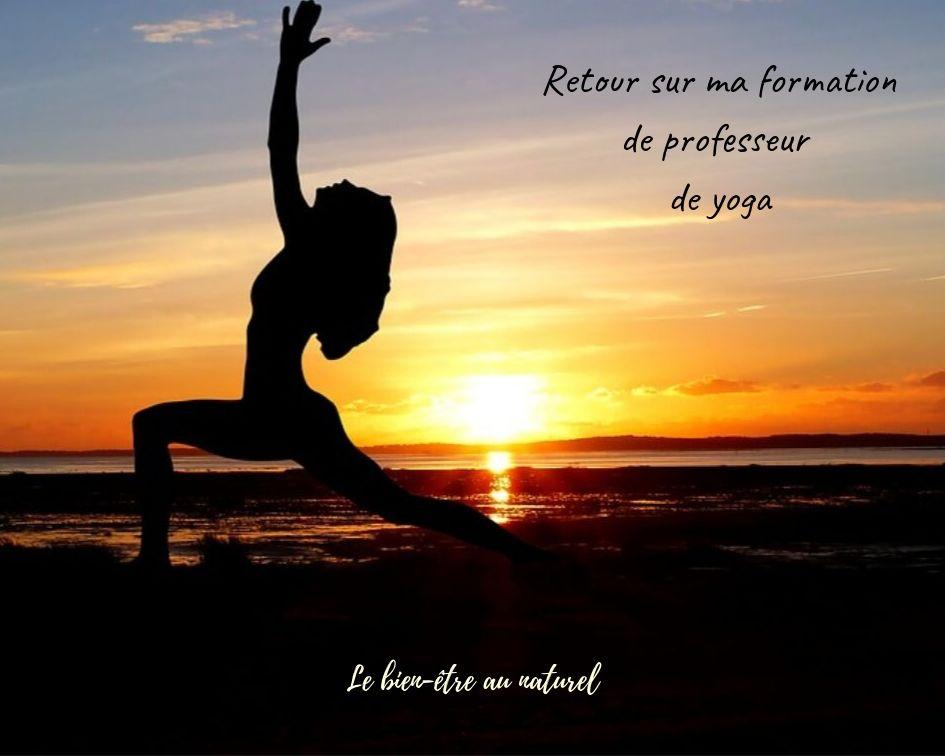 Bilan de ma formation de professeur de yoga