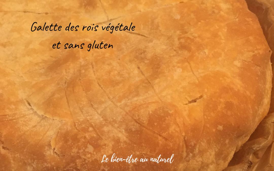 Galette des rois végétale et sans gluten !
